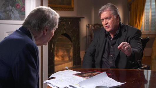 Bannon interview's riveting insights on Team Trump's welcome to Washington