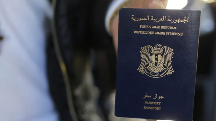 Report: ISIS in possession of more than 11,000 blank Syrian passports