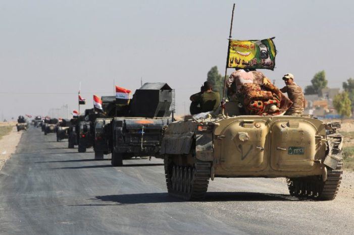 Iraqi forces advance on Kurdish-held sites near Kirkuk
