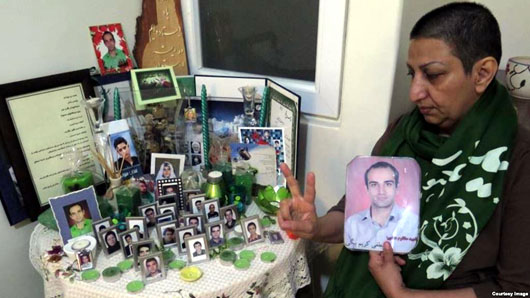 Mother Of Iranian protester killed In 2009 crackdown said sentenced to prison