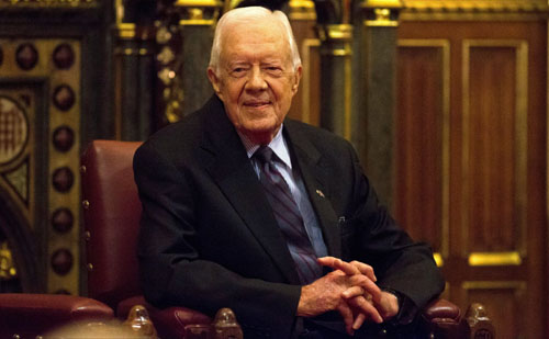 Jimmy Carter, honestly: 'I think the media have been harder on Trump than any other president'
