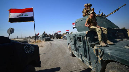 U.S.-led coalition says it will not support Iraqi or Kurdish forces in Kirkuk