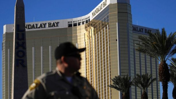 Mandalay Bay security guards were banned from carrying 'weapons of any kind'