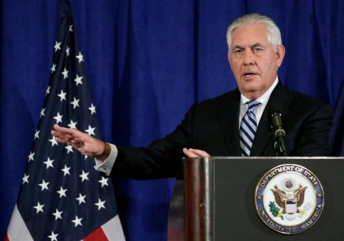 Tillerson: 'We do talk to them' (North Koreans); Trump: 'Save your energy Rex'