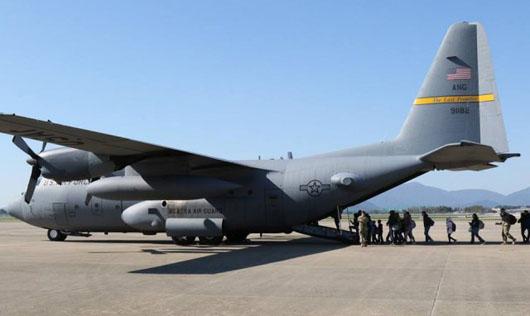 U.S. forces in Korea begin evacuation exercises for family members