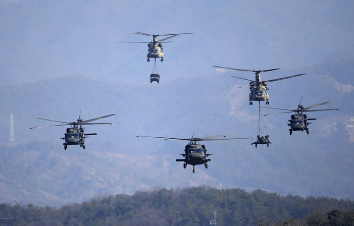 U.S., South Korea set for exercise with focus on synching operations in the event of war