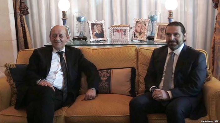 Iran accuses France of 'biased' policy as Hariri heads to Paris