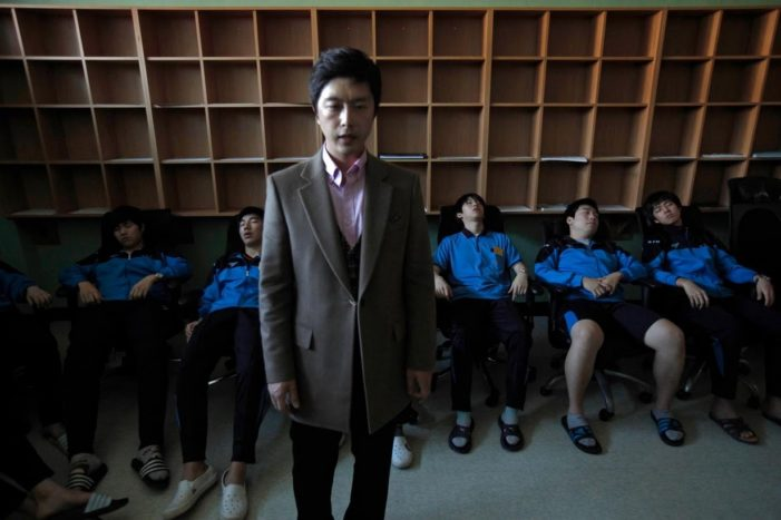 Quake was a disaster, but it canceled South Korea's 'examination hell' which was even worse