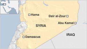 ISIS recaptures holdout border town in east Syria