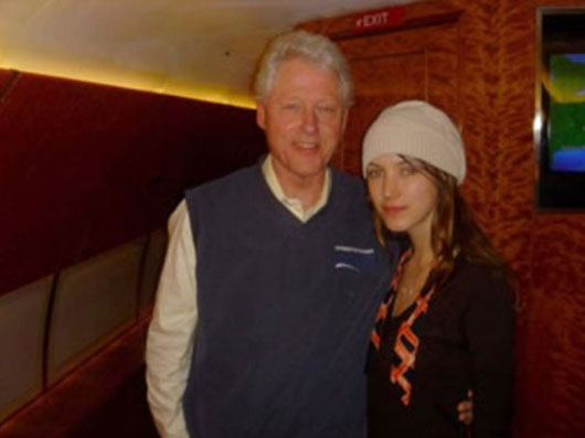 Report: Bill Clinton still mum on 26 flights aboard 'Lolita Express'