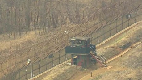 Tough border: Human traffic at the Korean DMZ is hazardous in both directions