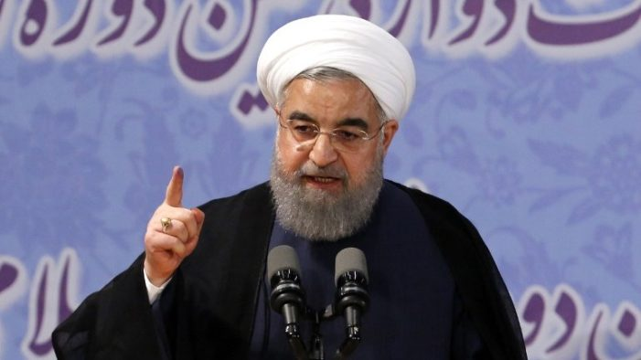 Iran's Rouhani: Muslim states 'mistaken' if they place trust in U.S. and Israel