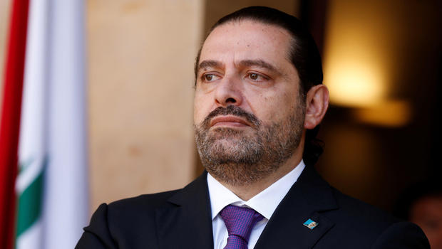 Back in Lebanon, Hariri says Iran-backed Hizbullah must accept reduced role