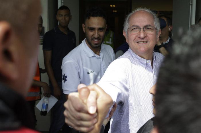 Caracas mayor, who escaped a socialist nightmare: 'I lived out a James Bond movie'