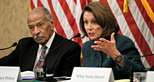 After losing 'moral high ground' on sexual harassment, Pelosi now says Conyers should resign