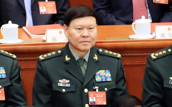 Chinese general who committed suicide was target of graft probe