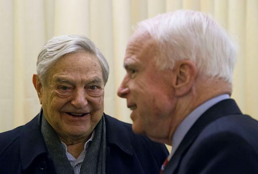 GREATEST HITS, 20 — The McCain-Soros connection: How it started
