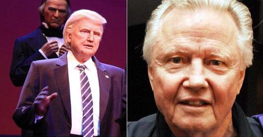 Disney World unveils Trump animatronic that 'looks like Jon Voight'