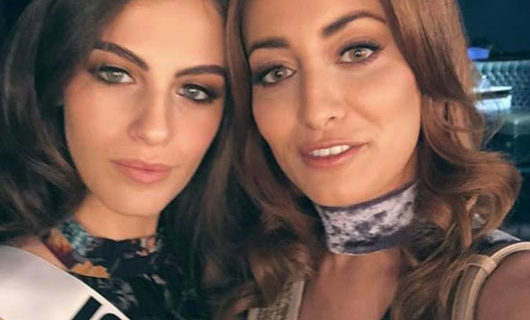 Miss Iraq had to flee her country after selfie taken with Miss Israel