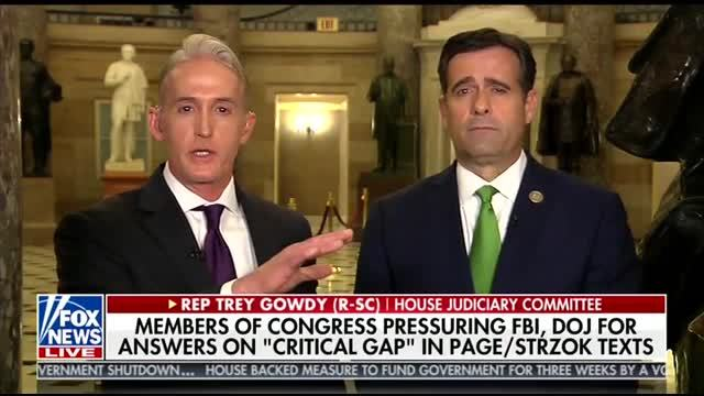 Text-gate: Missing messages from 5 critical months; Gowdy challenges FBI's objectivity