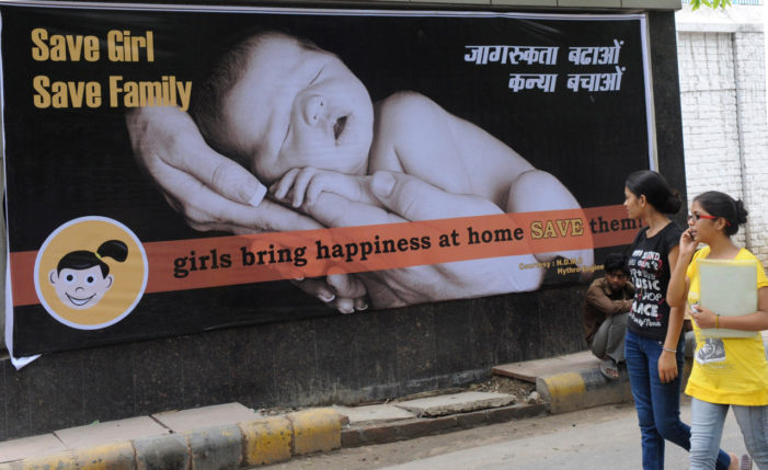 'Son preference': India has 21 million 'unwanted' girls, government says