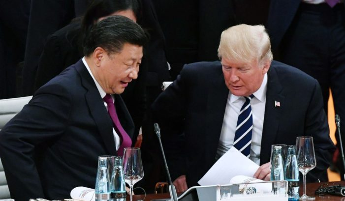 Trump to Xi: U.S. trade deficit with China 'not sustainable'