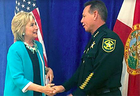 Broward County sheriff sums up his leadership with one word: 'Amazing'