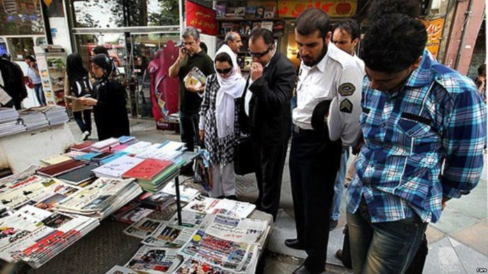 Press freedom group denounces 'unparalleled' media suppression in Iran