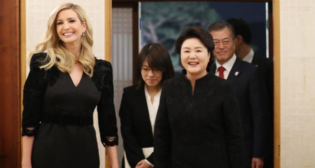 The Ivanka counter-charm offensive: Bracing for the Winter Olympics end game