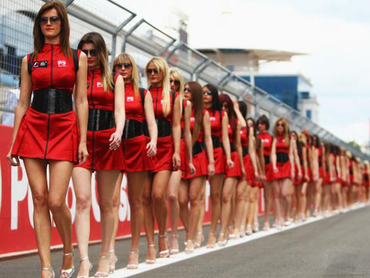 'PC gone mad': Feminists drive Formula 1 grid girls out of their jobs