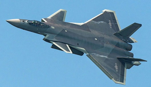 China deploys J-20 stealth fighter which closely resembles F-22