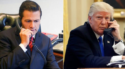 Mexico's president cancels White House visit after Trump refuses to cave on border wall