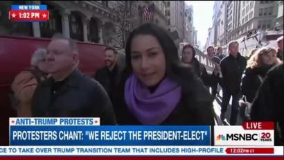 Networks gave major play to Russian-sponsored anti-Trump rally