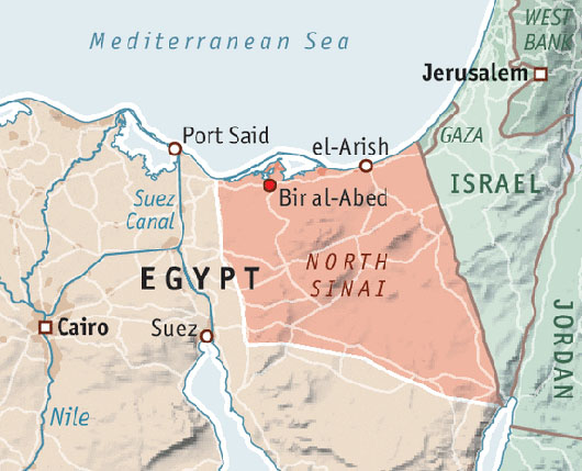 Report: Israel, Egypt are 'covert allies' in war on Sinai jihadists