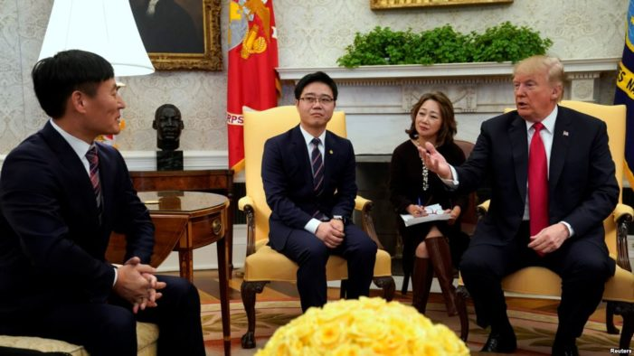 Give President Trump credit for confronting North Korea on its horrific rights record