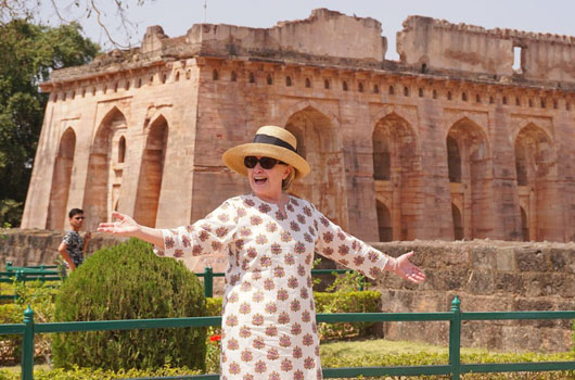 Security tab for Hillary's misadventures in India was picked up by U.S. taxpayers