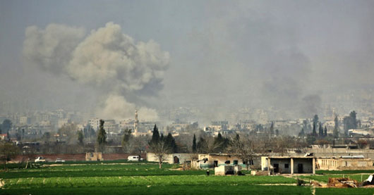 Syria, Russia step up offensive on rebels in Eastern Ghouta