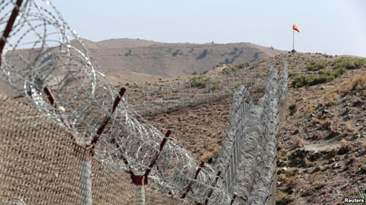 Pakistan says border wall built to keep out terrorists is 'phenomenal' success