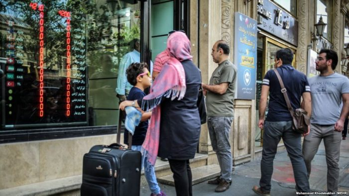 Iranians hit by 'perfect currency storm'