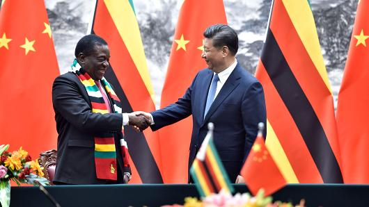 China seeks 'new chapter' with resource-rich Zimbabwe: Different leader, same access