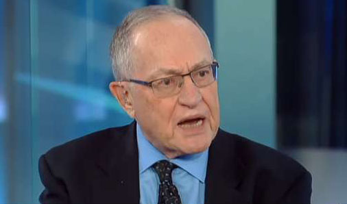Dershowitz: If Hillary's lawyer had been raided, 'ACLU would be on every TV station'