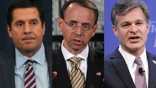 Under heavy pressure from House Intel committee, DOJ finally releases Russia document