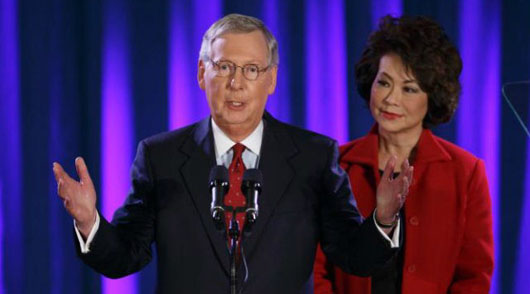 Report: McConnell's sister-in-law named to Bank of China board 10 days after Trump election