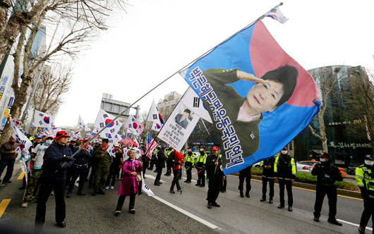 Mixed responses in South Korea to sentencing of conservative former president