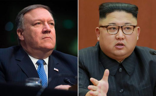 Report: Kim Jong-Un had several meetings with Pompeo, saw 'eye-to-eye with him'