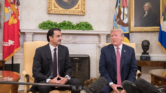 Qatar at hub of Trump administration push to form coherent Mideast policy