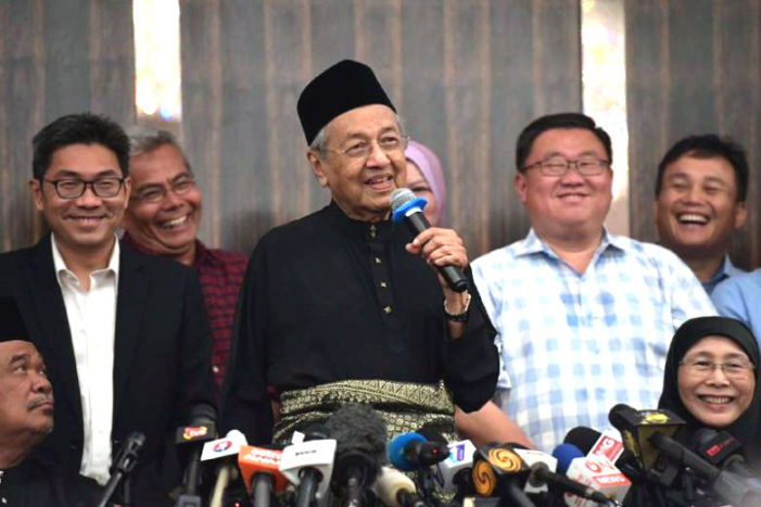 Mahathir's return in Malaysia promises significant change in ties with U.S., China