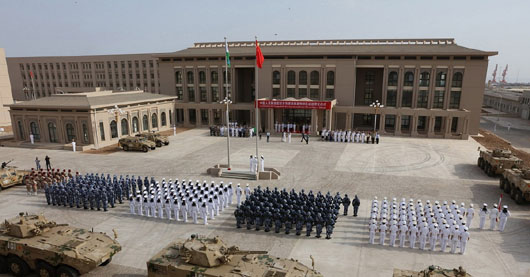 Chinese 'military grade' lasers injure two U.S. airmen in Djibouti