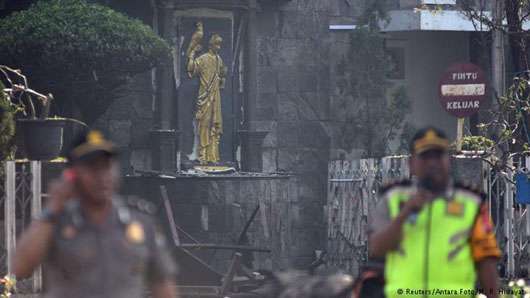 Hate: Family of ISIS members blow up selves, 3 Christian churches in Indonesia