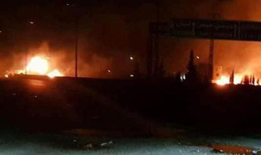 Reports: Israeli strikes in Syria hit missile depot held by Iran, Hizbullah